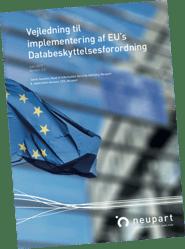 Implementering af Databeskyttelsesforordningen - GDPR