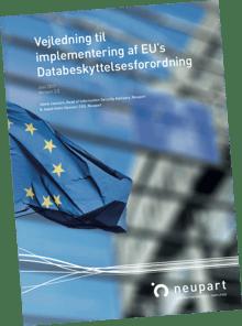 Vejledning til implementering af Databeskyttelsesforordningen - GDPR