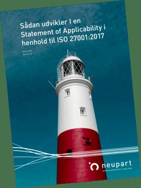 Statement of Applicability SoA vejledning - ISO 27001