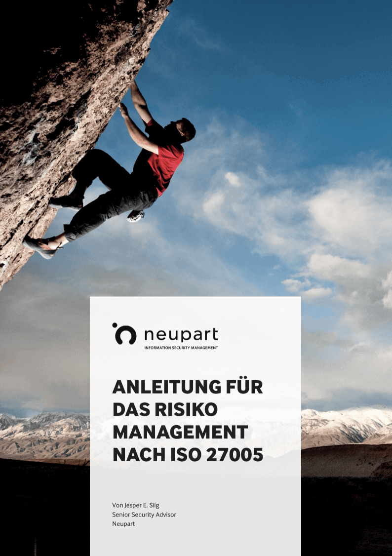 ISO 27005 Risikomanagement