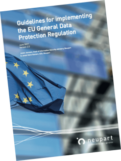 Implementing the EU General Data Protection Regulation - GDPR