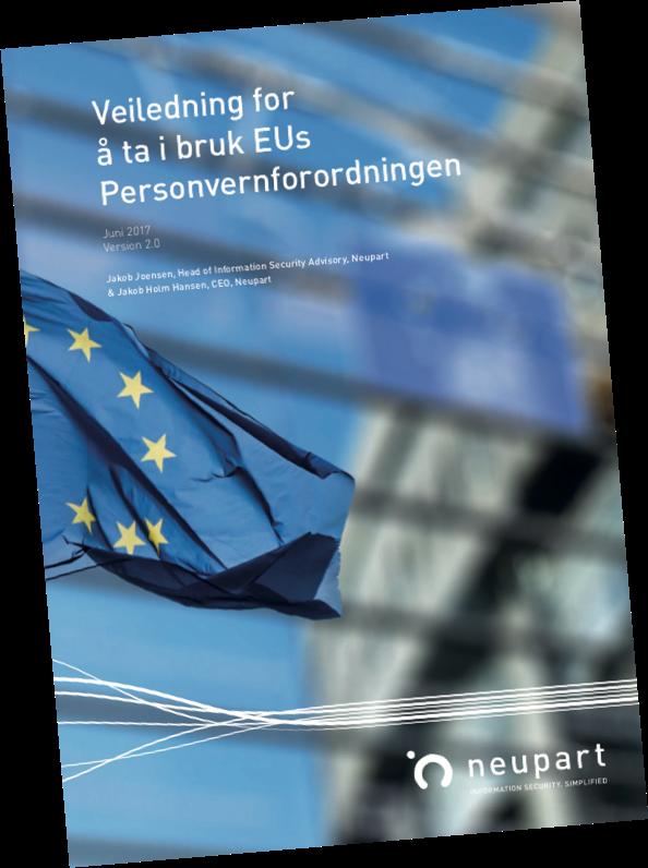 Veiledning for å ta i brug EUs Personvernforordningen - GDPR
