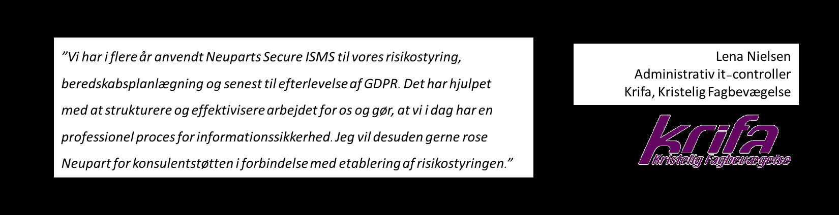 Efterlevelse af GDPR - strukturere og effektivisere - proces for informationssikkerhed